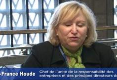 Interview de Marie-France Houde