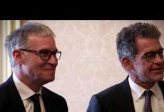 Entretien du Président du CESE, Patrick Bernasconi, avec le Premier ministre, Bernard Cazeneuve