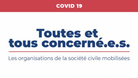#Tousmobilisés : Face au Coronavirus, la mobilisation des organisations du Conseil
