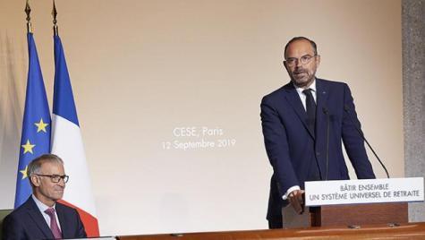 """""""Bâtir ensemble un système universel de retraite"""" - discours d'Edouard Philippe, Premier Ministre, le 12 septembre"""