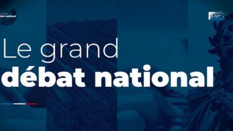 Le président BERNASCONI appelle à participer au Grand Débat National