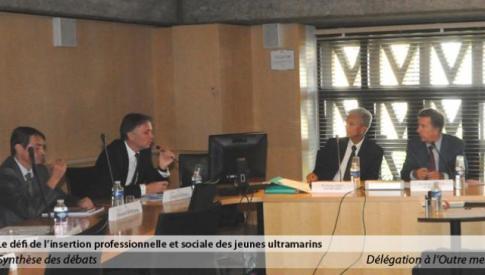 Compte rendu de la réunion de la délégation à l'Outre Mer du mercredi 10 juillet 2013