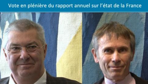 Vote du rapport annuel sur l'Etat de la France