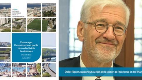 Encourager l'investissement public des collectivités territoriales : les préconisations du CESE