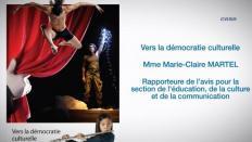 Le CESE a adopté son avis sur la démocratie culturelle