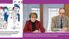 """Le CESE a rendu son avis sur """"L'évolution de la fonction publique et des principes qui la régissent"""""""