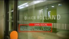 Romain Rolland, centre d'hébergement d'urgence du samu social - personnes sans domicile
