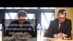 Questions à David SARTHOU (SGG) - études d'impacts