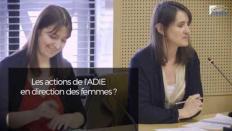 Laure COUSSIRAT-COUSTERE (ADIE) - Femmes et entrepreneuriat