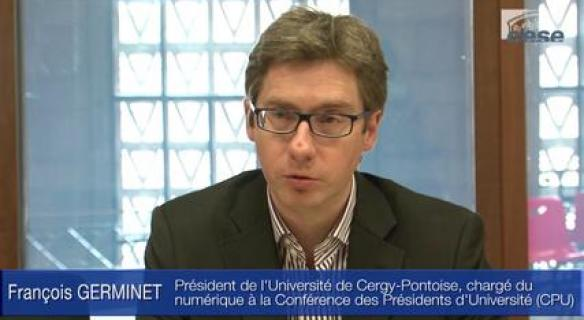 Audition de M. François GERMINET, Président de l'Université de Cergy-Pontoise
