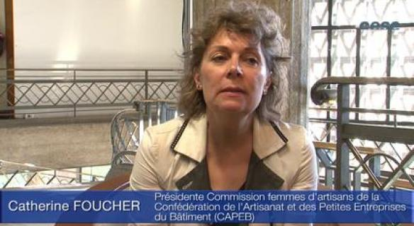 Audition de Catherine FOUCHER, et Agnès HAUTIN (CAPEB)
